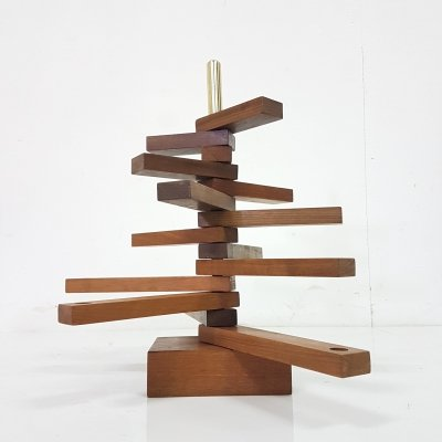 Danish modern adjustable candle holder, Denmark 1960s