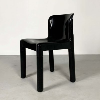 Plastic Chair Model 4875 by Carlo Bartoli for Kartell, 1970s