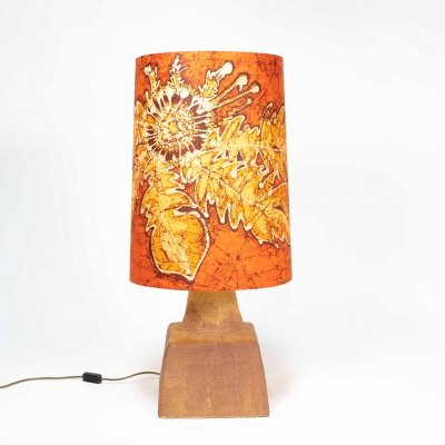 Ceramic table / floor lamp by Marianne Koplin, Berlin