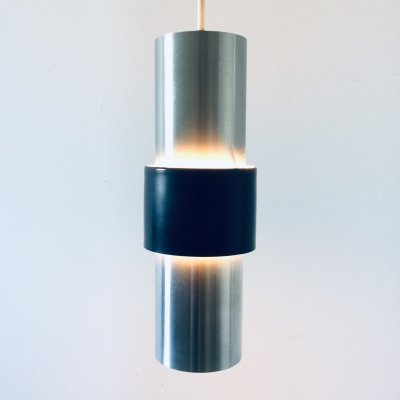 Midcentury Modern Pendant Hanging Lamp Model B 1198 by Raak, 1960's