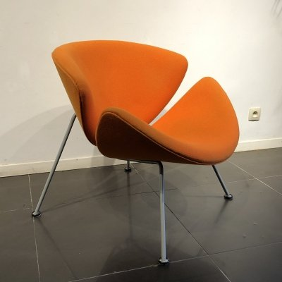 Early 'Orange Slice' Lounge Chair by Pierre Paulin for Artifort, 1960s