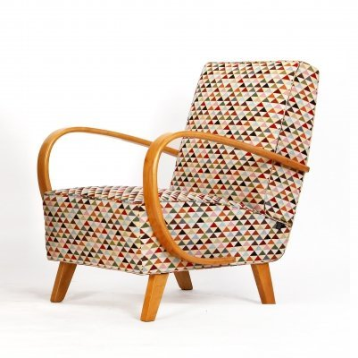 Armchair by Jindrich Halabala for Spojene UP zavody, 1940s