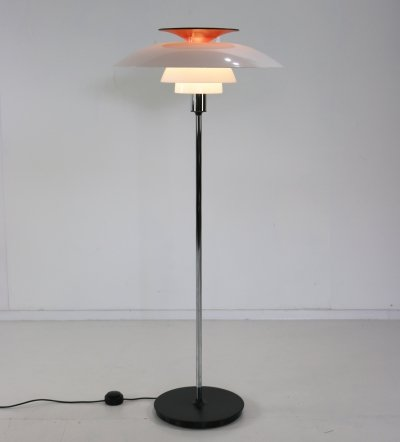 Floor lamp by Poul Henningsen for Louis Poulsen, 1980s