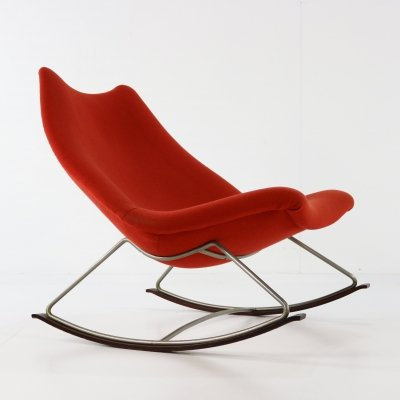 F 595 rocking chair by Geoffrey Harcourt for Artifort, 1960s
