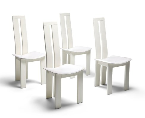 Pietro Costantini Dining Chairs, 1980s