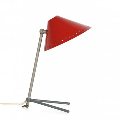 Red 'Pinocchio' Lamp by Hala Zeist, 1950s