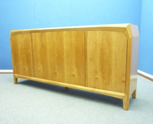 Anthroposophical Swiss Birch Sideboard, 1940s