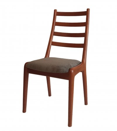 3x Danish teak dining chair, 1960s