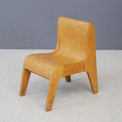 Italian Children's chair prototype by Pierluigi Ghianda, 1960s