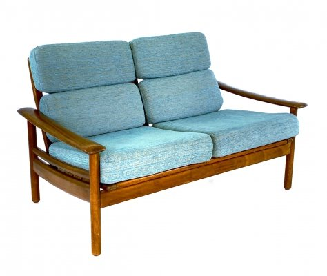Vintage Scandinavian two seater sofa, 1960s