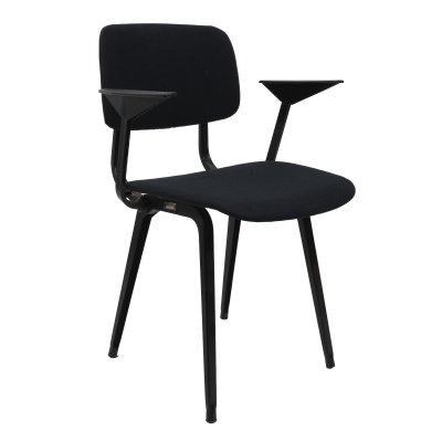 Revolt dining chair with armrests by Friso Kramer for Ahrend de Cirkel