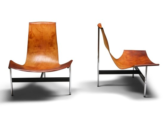 William Katavolos for Laverne International 'TH-15' Lounge Chairs, 1960s