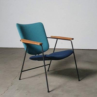 Very rare model 326 chair by W.H. Gispen for KEMBO