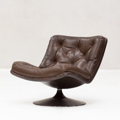 Easy chair F978 by Geoffrey Harcourt for Artifort, Holland 1960's