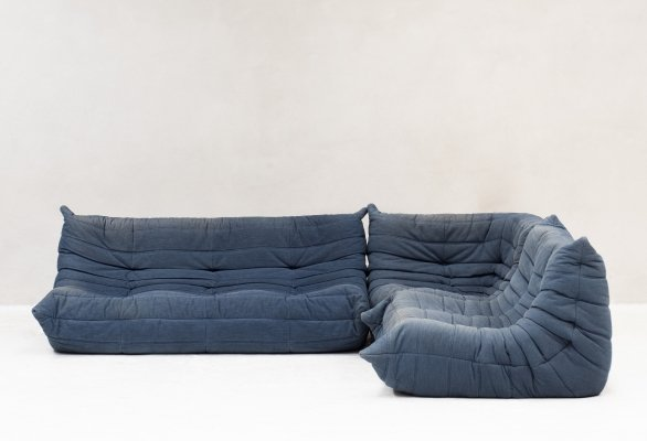 Seating group 'Togo' by Michel Ducaroy for Ligne Roset, France 1970's