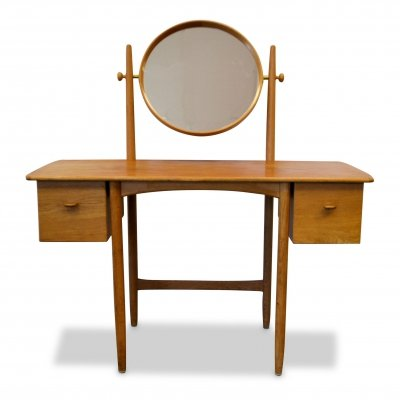 Vintage oak Sven Engström & Gunnar Myrstrand dressing table