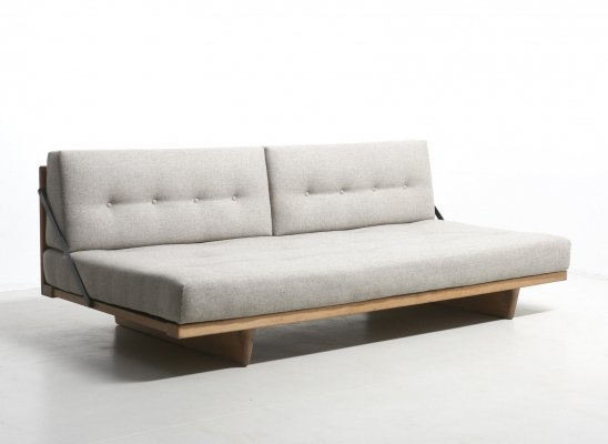 Sofa Bed Model 191 by Børge Mogensen for Fredericia, Denmark 1950's