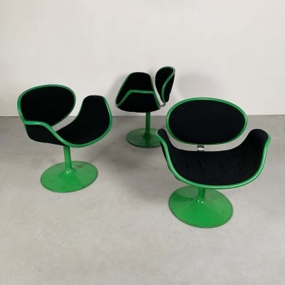 1st Edition Little Tulip Chairs by Pierre Paulin for Artifort, 1960s