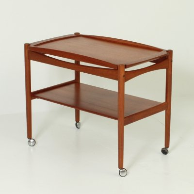 Danish Teak Serving Trolley, 1960's