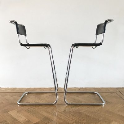 Pair of Bar stools by Mart Stam, 1970s