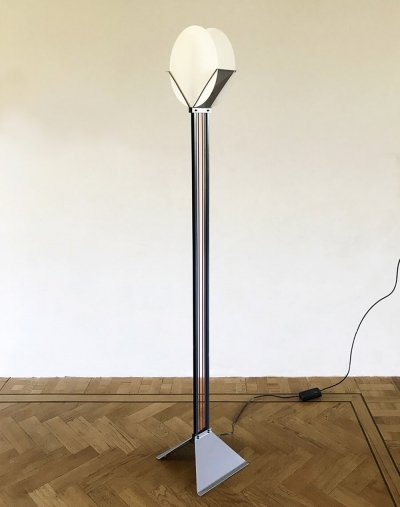 Rare postmodern floor lamp by Menno Dieperink, 1983
