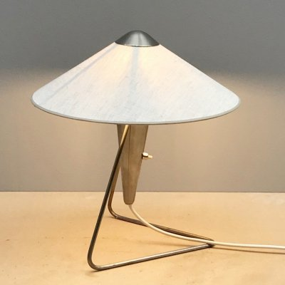 Brass Table Lamp, 1950s