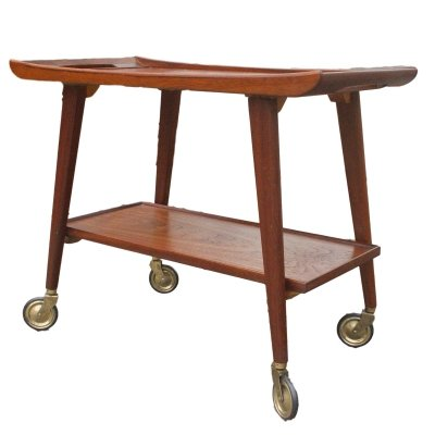Opal serving trolley, 1960s