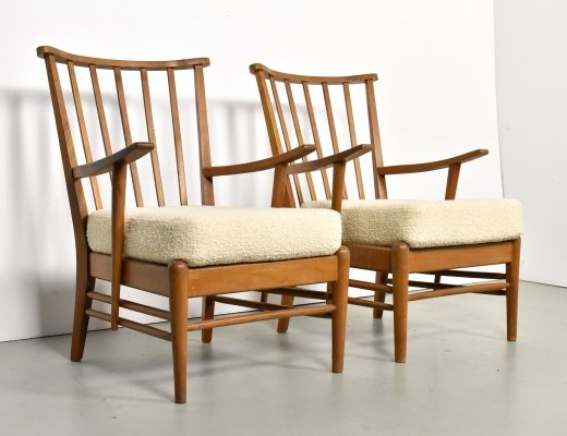 Pair of dining chairs by Bas van Pelt for My Home Bas van Pelt, 1950s