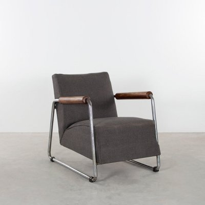 Tubular armchair from the 1930s