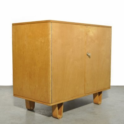 Vintage Birch cabinet CB02 by Cees Braakman for Pastoe, 1950s