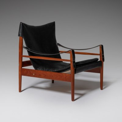 Hans Olsen 'Antilope' Safari Lounge Chair, 1960's