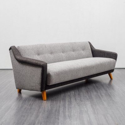 Mid-Century 1950s sofa with fold-out guest bed