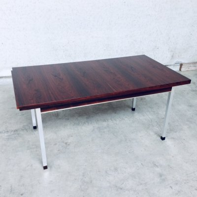 Midcentury Modern Extendable Dining Table in Rosewood, 1960's