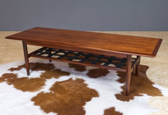 Rosewood coffee table by Topform, 1960s