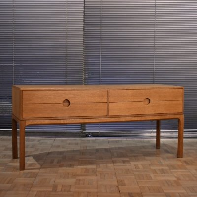 Kai Kristiansen Model 394 Oak Chest of Drawers for Aksel Kjersgaard