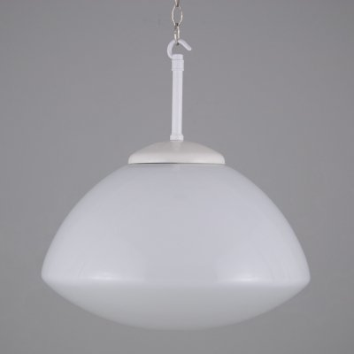 1950s ovaloid Czech pendant lighting