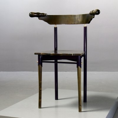 4 x Jansky dining chair by Bořek Šípek for Driade, 1980s