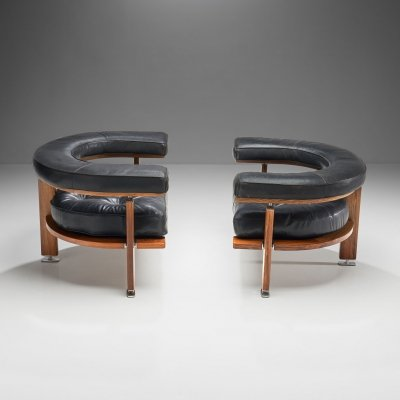 Pair of 'Polar' Lounge Chairs by Esko Pajamies, Finland 1960s