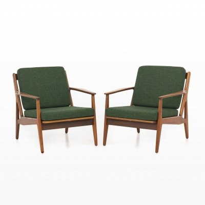 Pair of Model 6 arm chairs by Arne Vodder for Vamo Møbelfabrik, 1950s