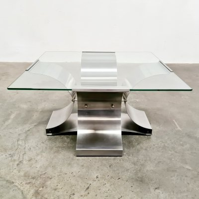 Coffee table by François Monnet, 1970s