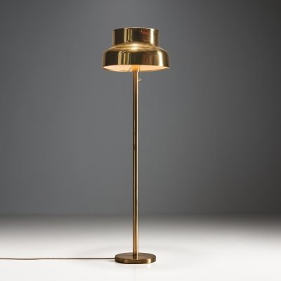 'Bumling' Floor Lamp in Brass by Anders Pehrson for Ateljé Lyktan, Sweden 1968