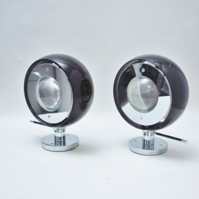Pair of Fisio wall lamps by Zero, 1990s