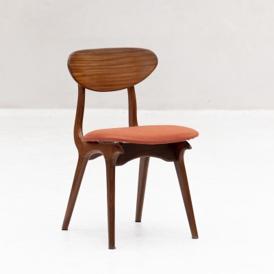 Side chair by Louis van Teeffelen for Wébé, 1960s