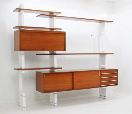 Vintage Extenso modular bookcase by AMMA, 1960s