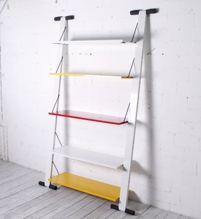 Shelve Unit 'Graffiti' by Rodney Kinsman for Bieffeplast, 1980s