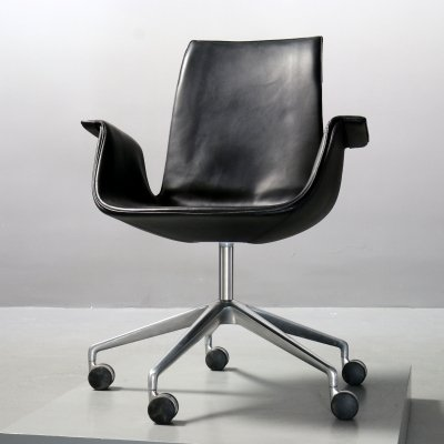 FK 6725 office chair by Preben Fabricius & Jørgen Kastholm for Alfred Kill International, 1970s