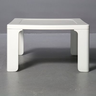 White Coffee Table by Dieter Rams for Vitsoe, 1970s