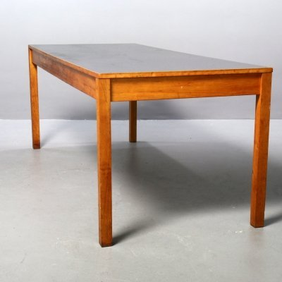 Table with Linoleum Table Top by Ferdinand Kramer for Goethe University, 1960s