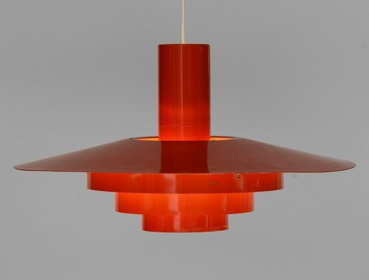Pendant light 'Karlebo' by Skaarup & Jespersen for Fog & Mørup, Denmark 1960s