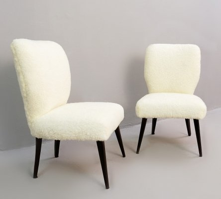 Pair of Cocktail Chairs, 1960s